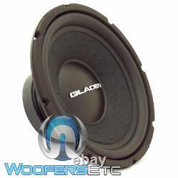 Gladen Alpha 10 Sub 10 Woofer 150w Rms 4-ohm Subwoofer Basse Haut-parleur De Voiture Nouveau