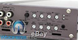 Gladen Rc150c5 Bluetooth Bt 5 Canaux Haut-parleurs Caisson De Graves Amplificateur Nouveau