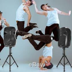 Haut-parleur Double Sound Package, 12 '' Subwoofers, Bluetooth, 2 Pieds D'enceintes