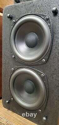 Haut-parleurs M&k Miller & Kreisel Sound 4 Satellite S-1b + Volkswoofer 2b Subwoofer