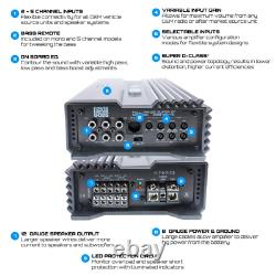 Hifonics A3000.1d Alpha 3000w Rms 6000w Max Subwoofers Speakers Bass Amplificateur