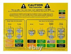 Hifonics Zg-3200.1d Zeus 3200w 1 Ch 6400w Max Subwoofers Haut-parleurs Bass Amplificateur