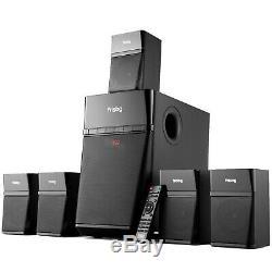 Home Cinéma Son Surround 5.1 Système D'enceintes Tv Numérique Optique Bluetooth