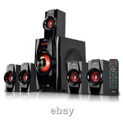 Home Theater System Smart Tv Haut-parleurs Surround Sound 5.1 Bluetooth Usb
