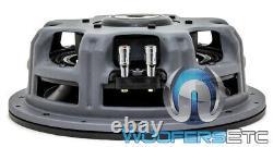 Image Dynamics Idqs10 D2 10 200w Rms Dual 2-ohm Shallow Mount Subwoofer Haut-parleur