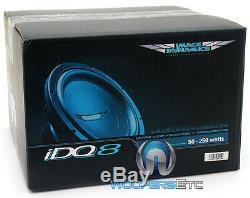 Image Dynamique Idq-8 D4 V. 4 8 500w Rms Double 4 Ohms Idq V. 4 Voiture Subwoofer
