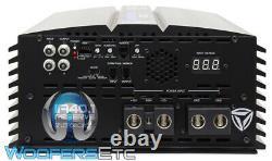 Incriminateur Audio Ia40.1 Monoblock 4800w Rms Subwoofers Amplificateur Basse Classe D