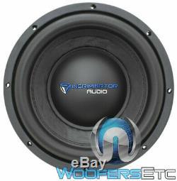 Incriminator Audio I10d4 10 Sous 500w Rms Double 4 Ohms Caisson De Basses-parleurs Bass Nouveau