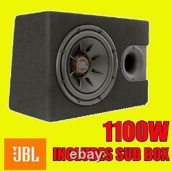 Jbl 12 Inch 1100w Car Audio Subwoofer Driver Bass Spl Sub Woofer + Boîte Originale