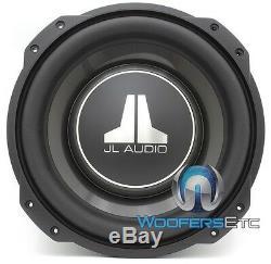 Jl Audio 10tw3-d4 Dual 4 Ohm 10 Shallow Slim Mince Mont Subwoofer Nouveau