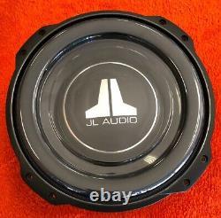 Jl Audio 10tw3-d4 Dual 4 Ohm 10 Slim Slim Mount Thin Subwoofer Haut-parleur Nouveau