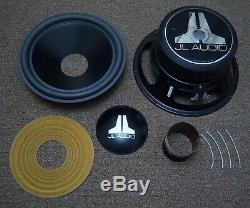 Jl Audio 10w6 Woofer Recone Service / Haut-parleur Re-cône / Réparation Subwoofer