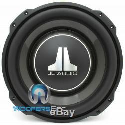 Jl Audio 12tw3-d4 12 Dual 4 Ohm Shallow Slim Mince Mont Subwoofer Nouveau