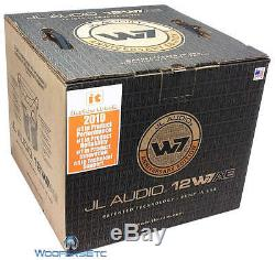 Jl Audio 12w7ae-3 12w7 Sub Simple 3 Ohm Car Audio Caisson De Basses-parleurs Bass Nouveau