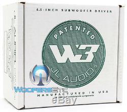 Jl Audio 6w3v3-4 Sub 6.5 300 Watts 4 Ohm Caisson De Graves Haut-parleur Basse 6w3 Nouveau