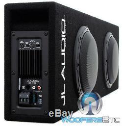Jl Audio Acp208lg-w3v3 8 Caissons De Basse Loaded Haut-parleurs Et Du Boîtier Box & Amplificateur