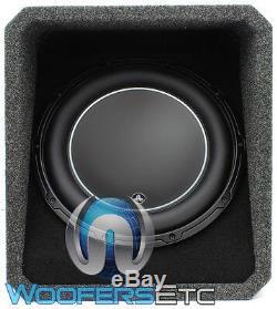 Jl Audio Ho112-w6v3 12 Sous Loaded Caisson De Graves Enceinte D'enceintes Bass & Box New