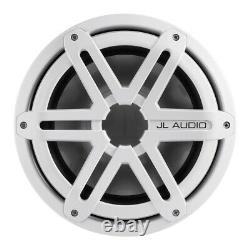 Jl Audio Mx10ib3 10 Pouces (250 Mm) Marine Subwoofer Driver White Sport Grille