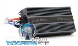 Jl Audio Mx600 / 3 600w Rms 3 Canaux Haut-parleurs Marine Bateau Moto Amplificateur