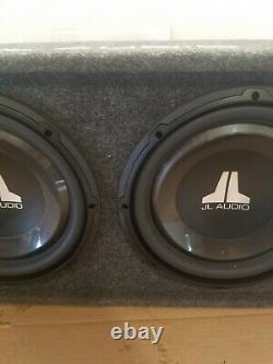 Jl Twin Audio Subwoofers Haut-parleurs Basse Sous-marins Boîte