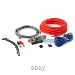 Kicker 10 Car Audio Subwoofer+sealed Sub Box+monoblock Amp+amp Kit+speaker Wire