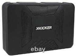 Kicker 11hs8 8 150w Hideaway Car Audio Powered Subwoofer Sub Hs8+6.5 Haut-parleurs
