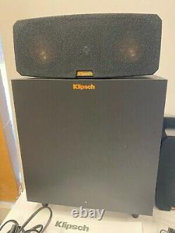 Klipsch Reference Theater Pack 5.1 Ch Surround Sound Speakers Subwoofer Open Box