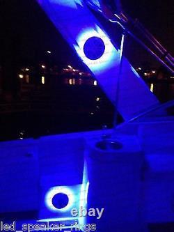 Led Rgb Speaker Anneaux Pour Jl Audio 10 Led Marine Subwoofer Anneau No Forage