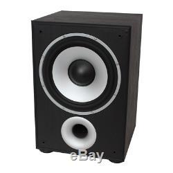 Ltc Sw100 Noir Caisson De Basse Actif Haut-parleur Basse Hifi Sound System 100w