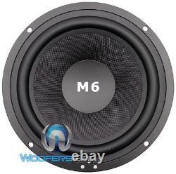 M6i Single Cdt Audio 6.5 Woofer Subwoofer Speaker Hd-car M6i Midbass Nouveau
