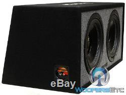 Memphis 2 12 + Subwoofers Ported Box Loaded Caisson De Grave Bass Haut-parleurs Car Audio