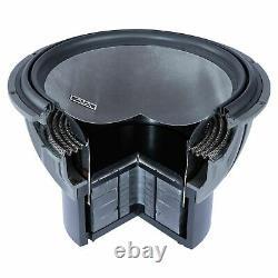Memphis Audio Viv1422 Sub 14 Subwoofer 4400w Dual 2 Ohms Voiture Basse Nouveau Président