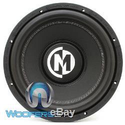 Memphis Br12s4 12 Sub Audio Voiture De 4 Ohms Caisson De Basses-parleurs Bass Nouveau