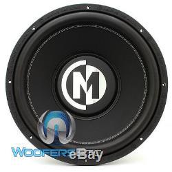 Memphis Br15d4 15 Sub Car Audio Dual 4 Ohms Caisson De Basses-parleurs Bass Nouveau