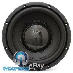 Memphis Brx1040 10 Sous 800w Max De 4 Ohms Caisson De Graves Enceintes Bass Nouveau