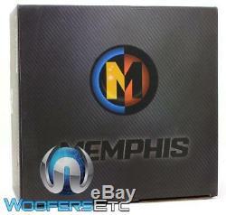 Memphis Brx1244 12 Sous 800w Max Dual 4 Ohms Voiture Audio Subwoofer Parleurs Bass Nouveau