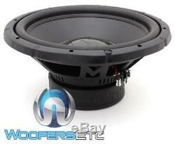 Memphis Brx1544 15 Sub 800w Max Dual 4 Ohms Voiture Audio Subwoofer Parleurs Bass Nouveau