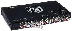 Memphis Eqg7 Eq 7 Band Equalizer Aux. 8 Volt Sub Subwoofer Haut-parleurs Avant Ampnew
