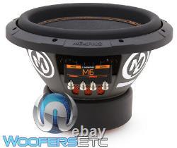 Memphis M612d2 12 Sub 700w Rms 1400w Max Dual 2-ohm Subwoofer Bass Speaker Nouveau