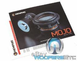 Memphis Mjm844 8 Mojo Mini Sub 1800w Double 4 Ohms Caisson De Graves Enceintes Bass Nouveau