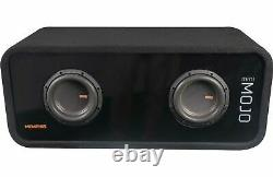 Memphis Mjme8d1 Dual Mojo 8 3600w Subwoofers Bass Speakers & Ported Box Nouveau