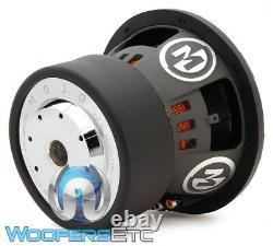 Memphis Mojo 610d2 10 Sub 2200w Dual 2-ohm Car Audio Subwoofer Bass Speaker Nouveau