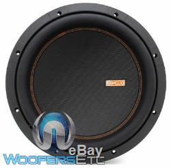 Memphis Mojo 612d2 12 Sous 3000w Double Subwoofer Audio Voiture 2 Ohms Haut-parleur Nouveau