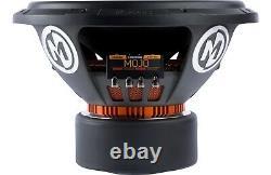 Memphis Mojo 612d4 12 Sub 3000w Dual 4-ohm Car Audio Subwoofer Bass Speaker Nouveau