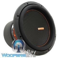 Memphis Mojo 612d4 12 Sub Double 4 Ohms Voiture Audio Subwoofer Parleurs Bass Nouveau