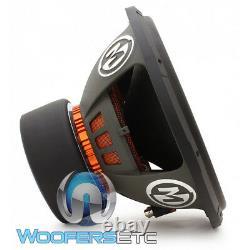 Memphis Mojo 615d2 15 Sub 4400w Dual 2-ohm Car Audio Subwoofer Bass Speaker Nouveau