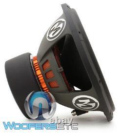 Memphis Mojo 615d4 15 Sub 4400w Dual 4-ohm Car Audio Subwoofer Bass Speaker Nouveau