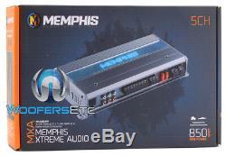 Memphis Mxa850.5m 5channel 850w Rms Marine Boat Haut-parleurs Caisson De Graves Amplificateur Nouveaux