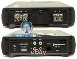 Memphis Prx1500.1 Amp Monoblock 3000w Max Subwoofers Haut-parleurs Ampli Basse Nouveau