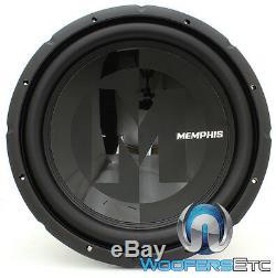 Memphis Prx1544 15 Sub 600w Max Dual 4 Ohms Voiture Audio Subwoofer Parleurs Bass Nouveau